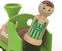 BRIO speelgoed Treinset met koe in wagon