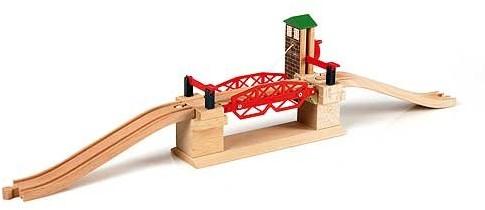 Brio  houten trein accessoire Ophaalbrug 33757-1