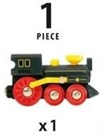 BRIO trein Oude stoomlocomotief 33617-3