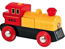 Brio  houten trein Batterij locomotief 33594