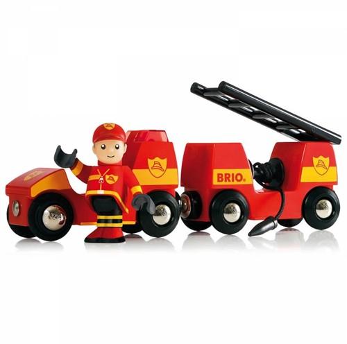 BRIO trein Autotransporter met oprijplaat 33577