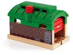 Brio  houten trein gebouw Trein remise 33574
