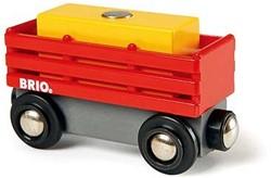 Brio  houten treinwagon Hooiwagon 33565