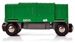 Brio  houten treinwagon Goederenwagon 33561