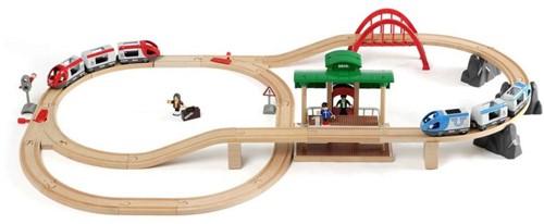 BRIO trein Treinset met perron 33512