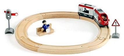 BRIO trein Treinset met perron 33512-2