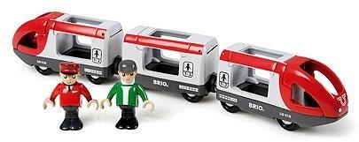 BRIO trein Rode passagierstrein 33505