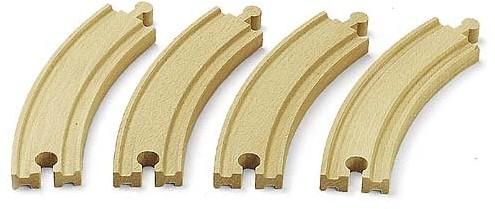 BRIO Lange gebogen rails - 33342