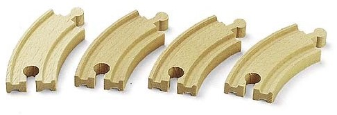BRIO Short Curved Tracks
