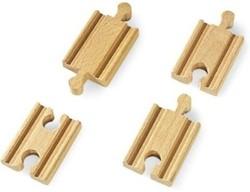 Brio  houten treinrails Korte rechte rails 33333
