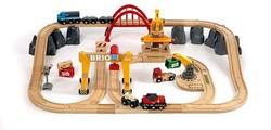 Brio  houten trein set Luxe vrachtset 33097
