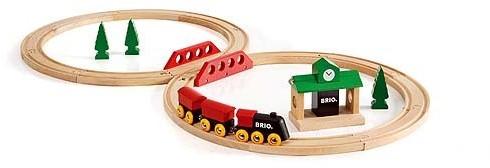 Brio  houten trein set Klassieke treinset 33028-1