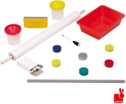 Janod  kindermeubel schoolbord en magneetbord