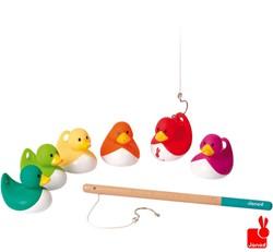 Janod  houten kinderspel Visspel eendjes