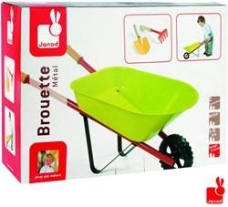 Janod  kinder tuinspullen Kruiwagen met gereedschap