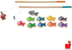 Janod  houten kinderspel Visjes vangen magnetisch