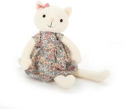 Jellycat knuffel Fleur Kitty -27cm