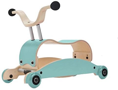 Wishbonebike Mini Flip Mix & Match - Aqua - Aqua - Aqua