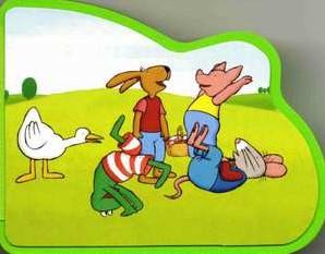 Kinderboeken  prentenboek Kikker en vriendjes: Vriend