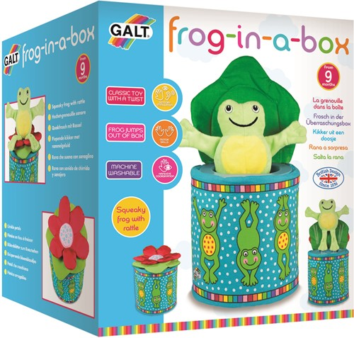 Galt First Years - Frog in a Box
