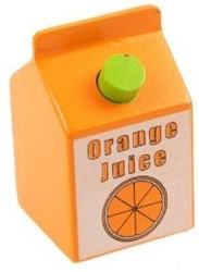 BigJigs Orange Juice, per stuk