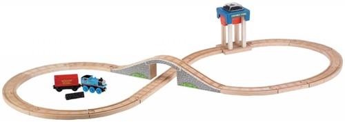 Thomas and Friends  houten trein set Coal hopper figure 8 set-2
