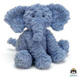 Jellycat knuffel Fuddlewuddle Elephant Medium -23cm