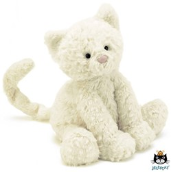 Jellycat knuffel Fuddlewuddle Kitty Medium -23cm
