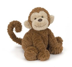Jellycat knuffel Fuddlewuddle Monkey Medium -23cm