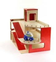 Van Dijk Toys  speelstad gebouw Garage met lift-2