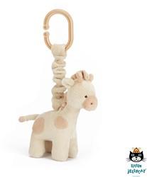 Jellycat Gentle Giraffe Jitter - 15 CM