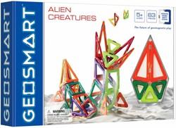 Geosmart constructie speelgoed Alien Creatures - 63 onderdelen