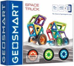 Geosmart constructie speelgoed Space Truck - 43 onderdelen
