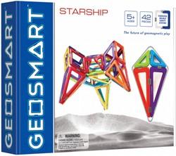 Geosmart constructie speelgoed Starship - 42 onderdelen