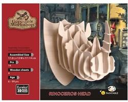 Gepetto's Workshop  houten knutselspullen Rinoceros Head