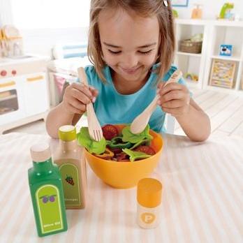 Hape houten keuken accessoires Garden Salad-3