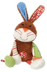 Sigikid  Sweety pluche knuffel knuffel konijn - 26 cm