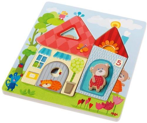 HABA Houten puzzel Berenhuis