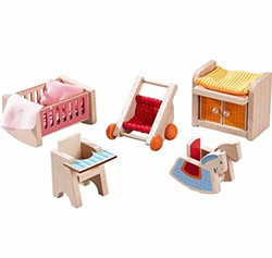Haba  Little Friends houten poppenhuismeubels Kinderkamer