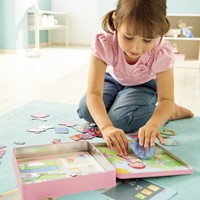 Haba  kinderspel Magneetspel Aankleedpop Lilli 7392-3