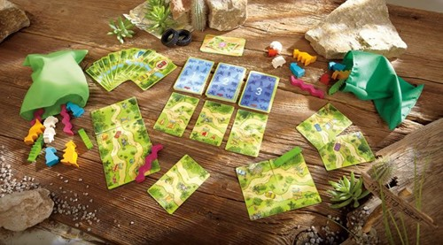 Haba  kinderspel Taxi wildlife 7193-2