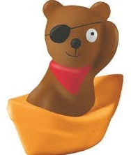 Haba  badspeelgoed Spuitfiguur Kalles Piratenbeer