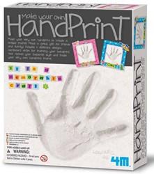 4M  Creatief knutselen Handafdruk maken van gips