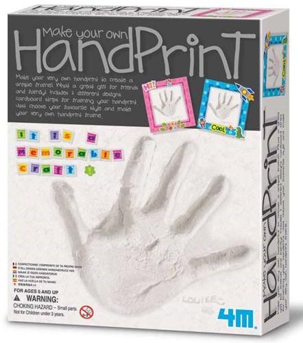 4M  Creatief knutselen Handafdruk maken van gips-1