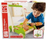 Hape houten loopwagen Block and Roll-2