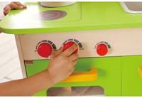 Hape houten keukentje Gourmet groen-3