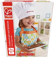 Hape houten keuken accessoires Chef kok set-2