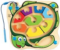 Hape houten leerspel Doolhof zeeschildpad-1
