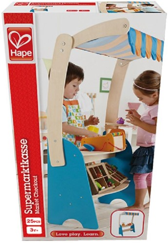 Hape houten keuken accessoires Market Checkout-2