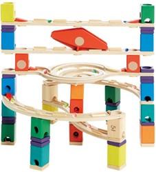 Hape Quadrilla houten knikkerbaan set Loop de Loop